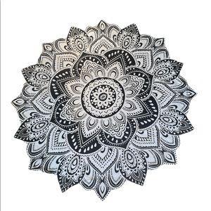 Handmade Lotus Tapesty